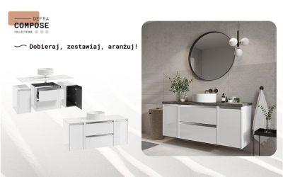 Modułowe meble łazienkowe. Ustawiaj, przestawiaj, zestawiaj